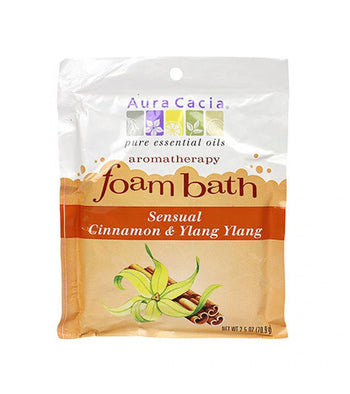 Cinnamon/Ylang Ylang Foam Bath - Camomile Beauty - Green Natural Cruelty-free Beauty Shop