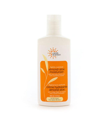 Almond Aloe Facial Moisturizer Light Scent - Camomile Beauty - Green Natural Cruelty-free Beauty Shop