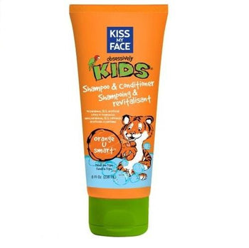 Kiss My Face-Kid Natural Shampoo & Conditioner - Orange U Smart