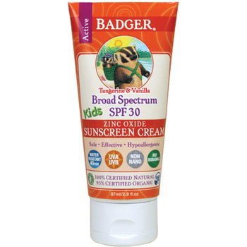 Badger Balm - SPF 30 Kids Sunscreen Cream
