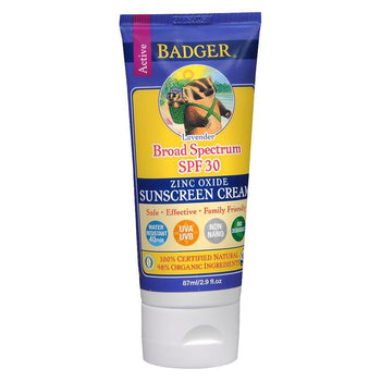 Badger Balm - SPF 30 Sunscreen Cream - Lavender