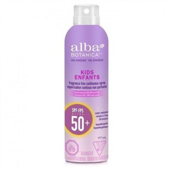Alba Botanica - Kids Sunscreen Continous Spray SPF50