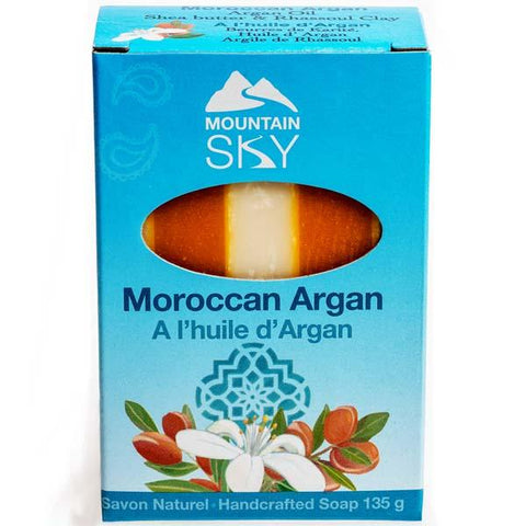 Mountain Sky- Moroccan Argan Bar Soap