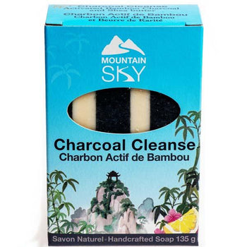 Charcoal Cleanse Bar Soap - Camomile Beauty - Green Natural Cruelty-free Beauty Shop