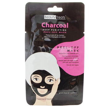 Charcoal Deep Purifying Peel-off Mask - Camomile Beauty - Green Natural Cruelty-free Beauty Shop