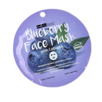 Blueberry Face Mask with Collagen - Camomile Beauty