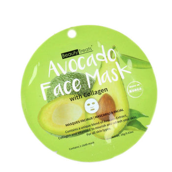 Avocado Face Mask with Collagen - Camomile Beauty