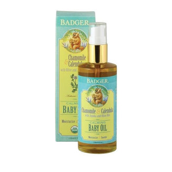 Badger Baby Oil - Camomile Beauty - Green Natural Cruelty-free Beauty Shop