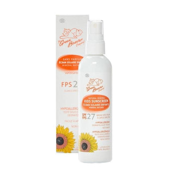 Green Beaver-Organic Kids Spray Sunscreen SPF27