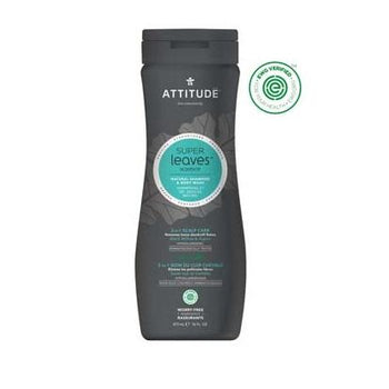 Attitude - 2in1 Shampoo & Body- Scalp Care (Men)