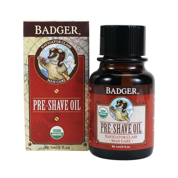 Badger Balms - Pre-Shave Oil