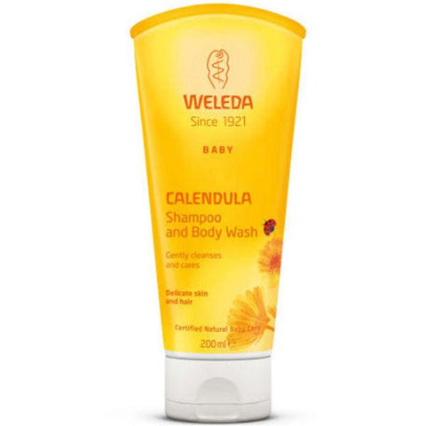 Calendula Shampoo and Body Wash - Camomile Beauty - Green Natural Cruelty-free Beauty Shop