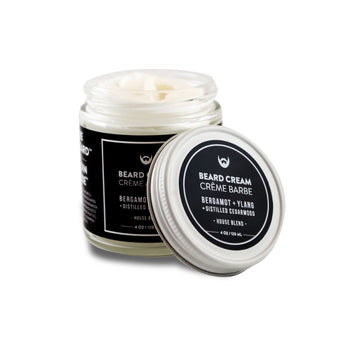 Beard Cream - Bergamot, Ylang, Cedar - Camomile Beauty - Green Natural Cruelty-free Beauty Shop