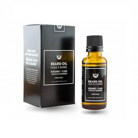 Beard Oil: Bergamot, Ylang, Cedar - Camomile Beauty - Green Natural Cruelty-free Beauty Shop
