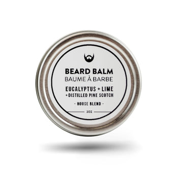 Beard Balm - Eucalpytus, Lime, Pine - Camomile Beauty - Green Natural Cruelty-free Beauty Shop