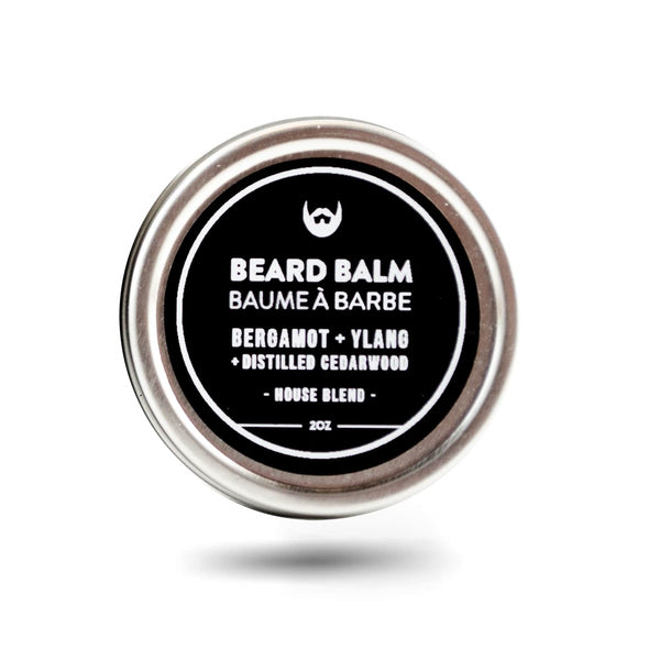 Beard Balm - Bergamot, Ylang, Cedar - Camomile Beauty - Green Natural Cruelty-free Beauty Shop