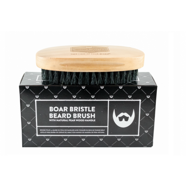 Boar Bristle Beard Brush - Camomile Beauty - Green Natural Cruelty-free Beauty Shop