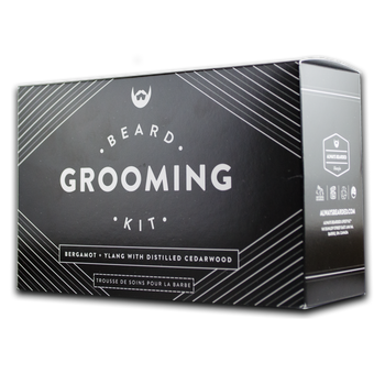 Beard Grooming Kit - Bergamot & Ylang - Camomile Beauty - Green Natural Cruelty-free Beauty Shop