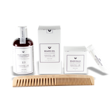 Beard Grooming Kit - Eucalyptus & Lime - Camomile Beauty - Green Natural Cruelty-free Beauty Shop