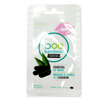 Boo Charcoal Lip Mask - Camomile Beauty - Green Natural Cruelty-free Beauty Shop