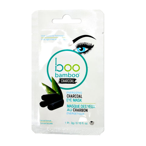 Boo Charcoal Eye Mask - Camomile Beauty - Green Natural Cruelty-free Beauty Shop