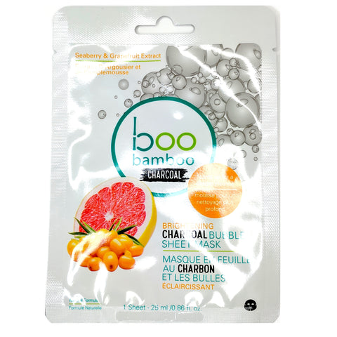 Boo Bubble Mask Brightening - Camomile Beauty - Green Natural Cruelty-free Beauty Shop