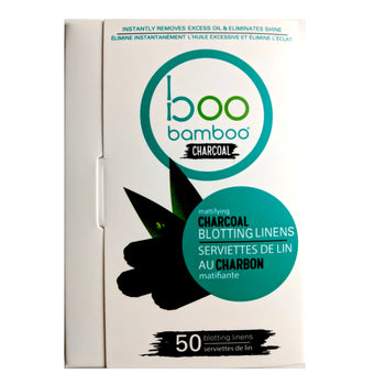 Boo Charcoal Blotting Linens - Camomile Beauty - Green Natural Cruelty-free Beauty Shop