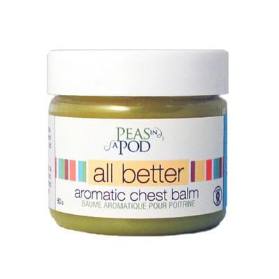 Peas In A Pod - All Better Aromatic Chest Balm