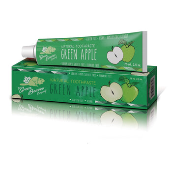 Green Beaver-Green Apple Toothpaste