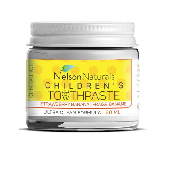 Nelson Naturals-Strawberry Banana (Kids) Toothpaste