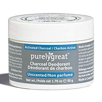 Purely Great-Cream Deodorant - Activated Charcoal