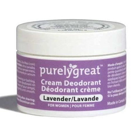 Purely Great-Cream Deodorant - Lavender