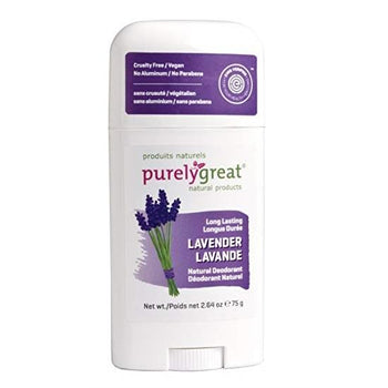 Purely Great-Natural Deodorant Stick - Lavender
