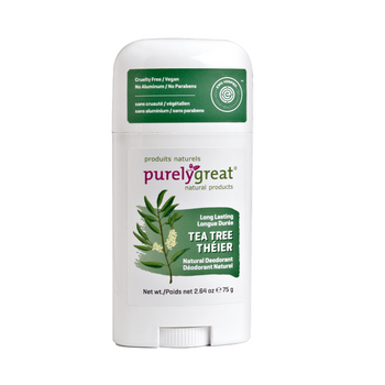 Purely Great-Natural Deodorant Stick - Tea Tree