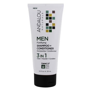 Andalou-Men Fortify Shampoo & Conditioner