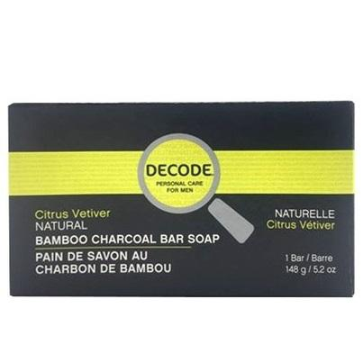 Decode - Cleansing Bar - Citrus Vetiver