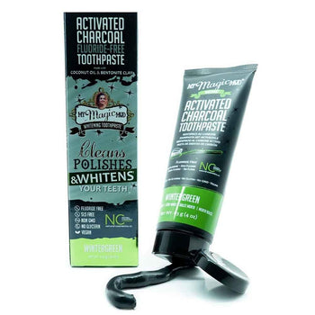 My Magic Mud - Charcoal Toothpaste Wintergreen