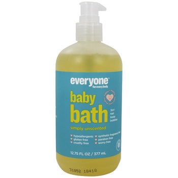 Everyone Soap - Baby 3-in-1 Shampoo, Body Wash & Bubble Bath - Unscented