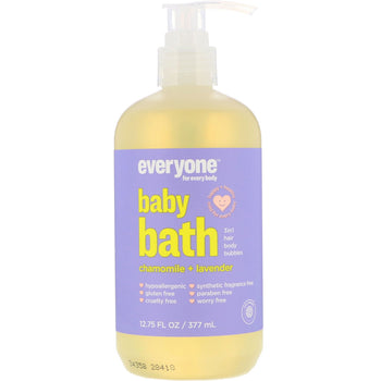 Everyone Soap - Baby 3-in-1 Shampoo, Body Wash & Bubble Bath - Chamomile & Lavender