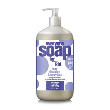 Everyone Soap - Kid 3-in-1 Shampoo, Body Wash & Bubble Bath - Lavender Lullaby