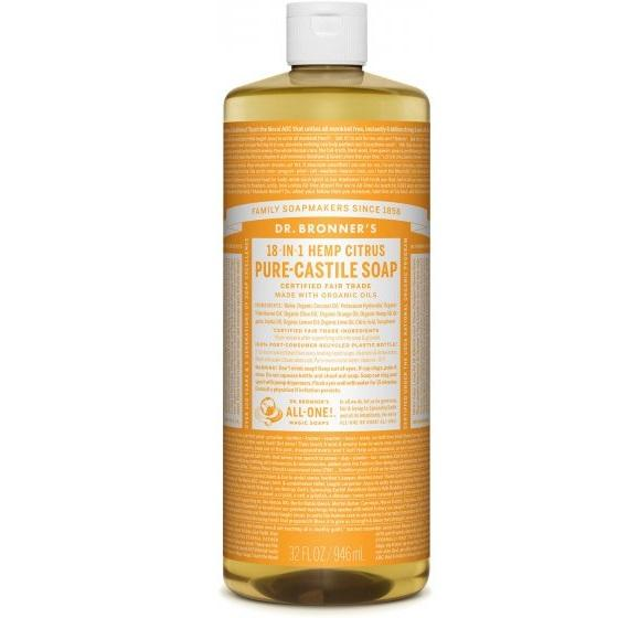 Dr. Bronner-Citrus Pure-Castile Liquid Soap