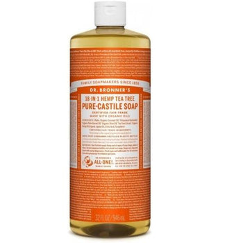 Dr. Bronner-Tea Tree Pure-Castile Liquid Soap
