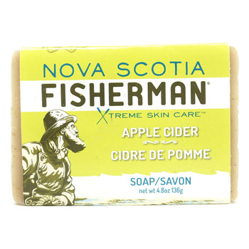 Nova Scotia Fisherman-Apple Cider Bar Original Soap