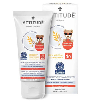 Attitude - Baby Sensitive Sunscreen SPF30