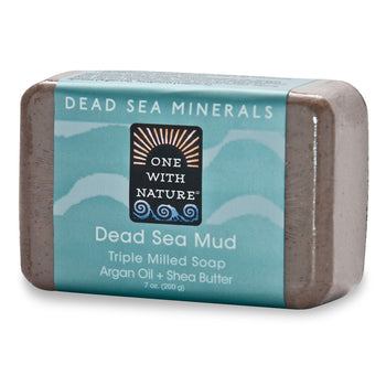 One with Nature - Dead Sea Mud Bar Soap