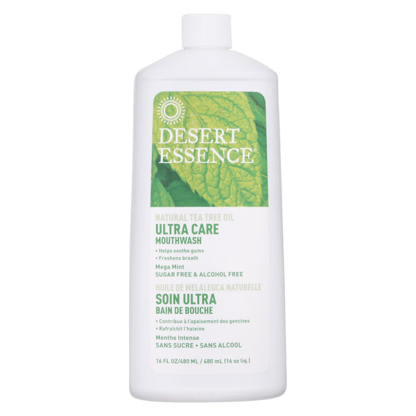 Dessert Essence-Tea tree Oil Mouthwash Ultra Care