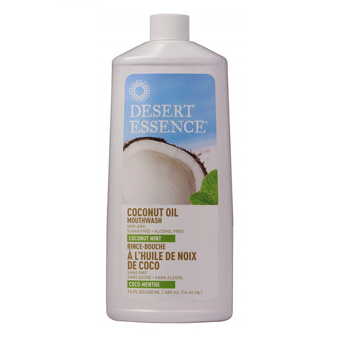 Dessert Essence-Coconut Oil Mint Mouthwash