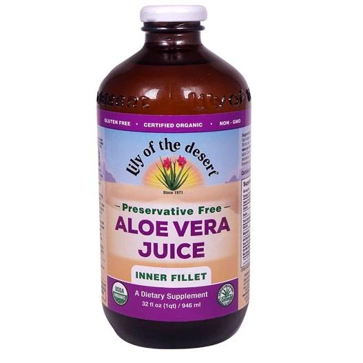Lily Of the Dessert - Organic Aloe Juice