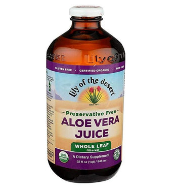 Lily of the Dessert - Organic Whole Leaf Aloe Juice