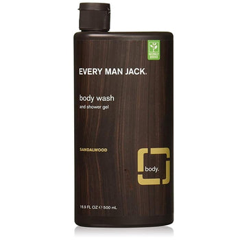 Every Man Jack-Body Wash - Sandalwood